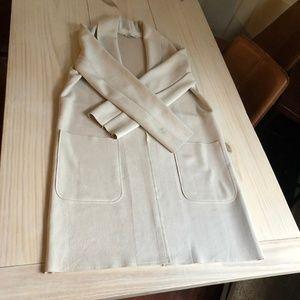 Small Zara Cream Lightweight Jacket